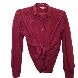 Vintage JH Collectibles Silk Blouse